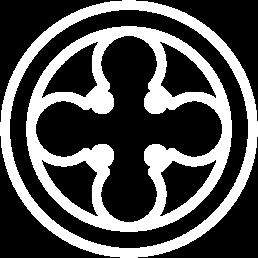 """Icona colore Bianco del simbolo """"Finestra Veneziana"""" raffigura la Tradizione"""
